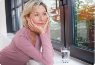 Progesteron-Frauen in den Wechseljahren