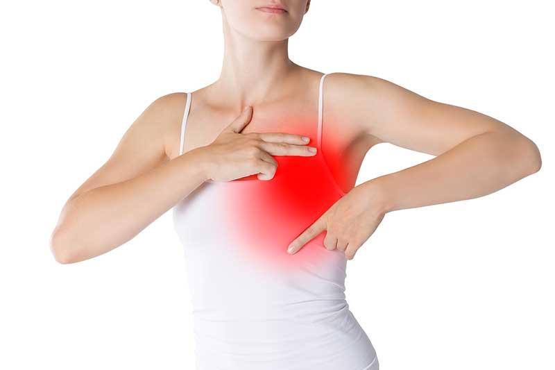 Brustschmerzen behandeln
